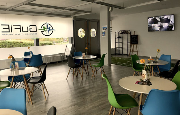 GuFiE Café Bereich