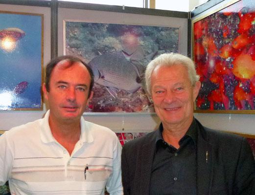Avec Jacques ROUGERIE