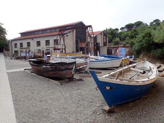 L'Atelier des barques de Paulliles