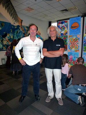 Avec Bernard ABEILLE