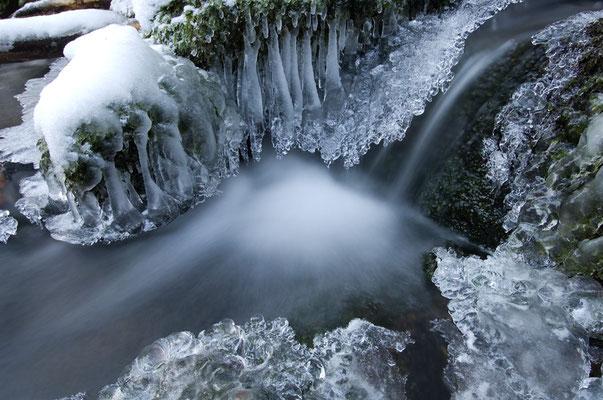 Wasser und Eis - zwei Dinge aber nur ein Element [UKR20110130_0167]