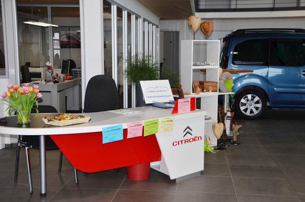 Austellungshalle Autohaus Hauff GmbH Pforzheim