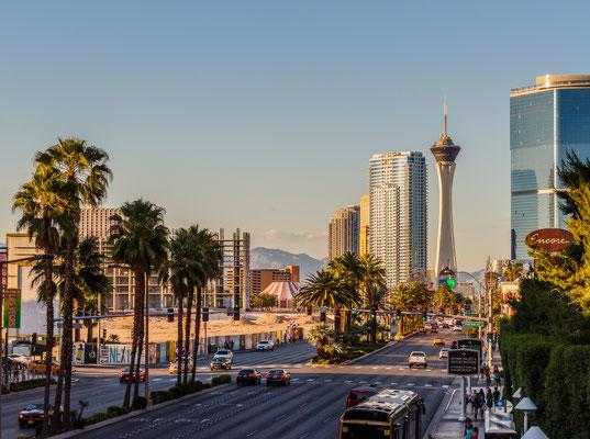 Las Vegas Blick auf den Stratosphere Tower