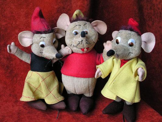 Les souris de Cendrillon (Susie, Gus et Jac)