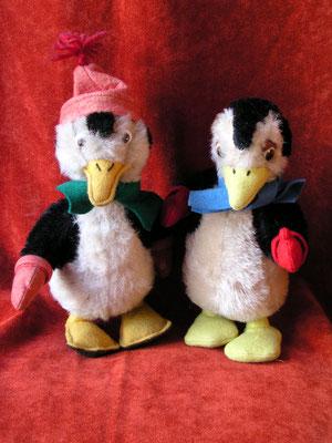 Deux versions de Pablo le pingouin (Disney)