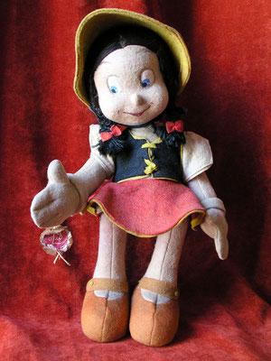 Bambina, la petite copine de Pinocchio (inventée par O'Lis)
