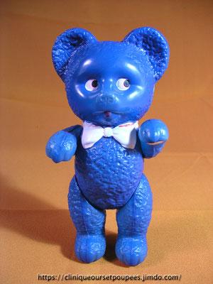 """Remontage d'un petit ours en celluloïd """"Royal"""""""