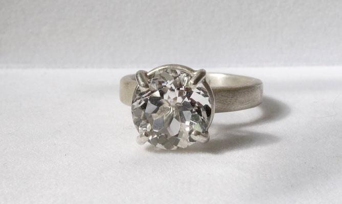 Bergkristall, Silberring