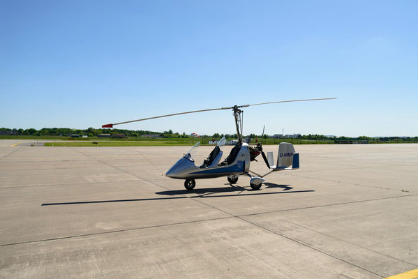 der Gyrocopter MT-03