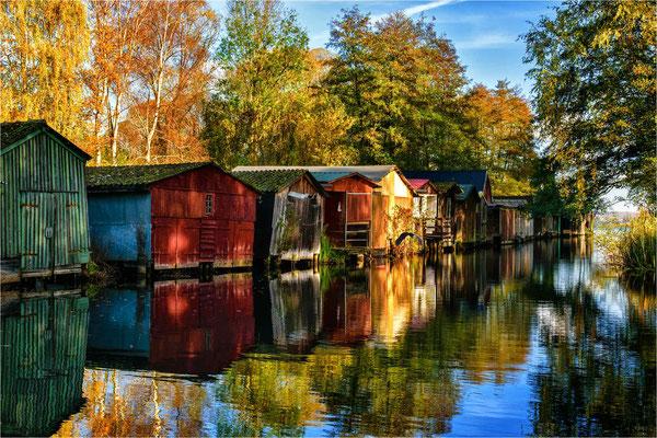 Wustrower Bootshäuser