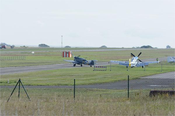 Bf-109 G12  rollt zum Start