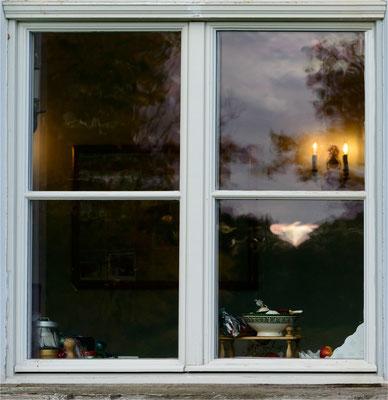 am Küchenfenster