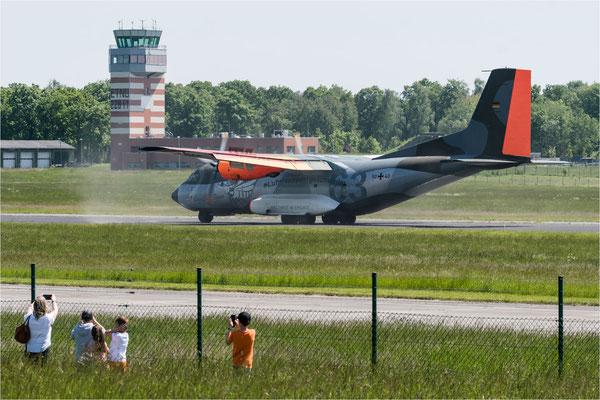Transall Abschiedstour  - Landung 04