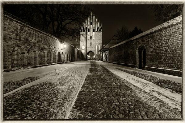 Stargarder Tor im Winter