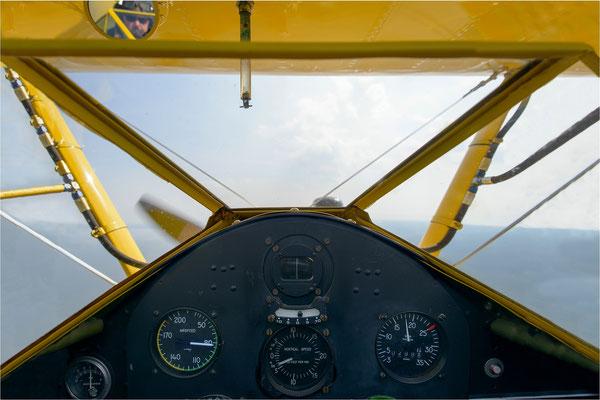 unterwegs mit der Boeing-Stearman