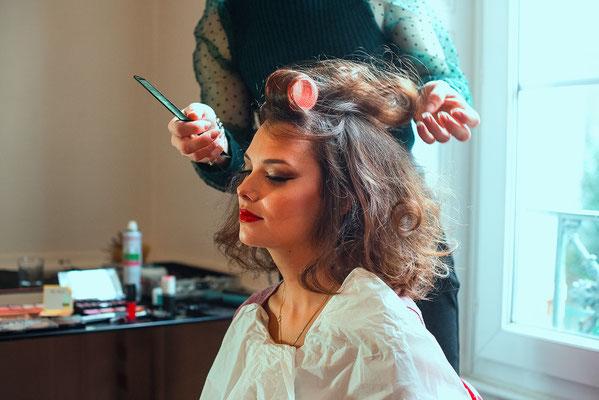 coiffure cheveux beauty backstage making-of préparation coiffeur photographe professionnel pays de la loire loire-atlantique maine et loire angers segré nantes 44 49