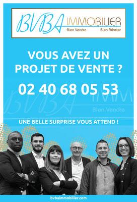 BVBA Immobilier équipe team affiche publicité agence immobilière Nantes photographe professionnel Loire-Atlantique