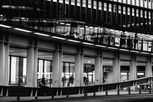 architecture noir et blanc les halles paris architecte photographe nantes loire-atlantiquepays de la loire