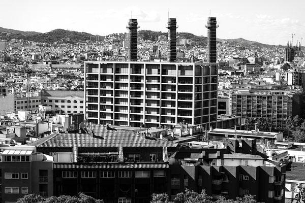 architecture noir et blanc usine bâtiment architecte photographe nantes loire-atlantique pays de la loire