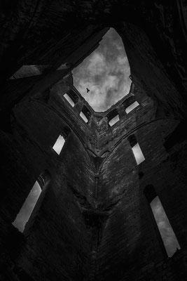 architecture noir et blanc église intérieur architecte photographe nantes loire-atlantique pays de la loire