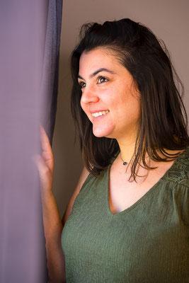 portrait femme brune couleurs natural naturel belle jolie photographe pays de la loire pornic loire-atlantique 44