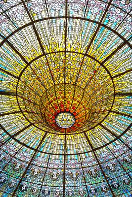 architecture couleurs intérieur barcelone barcelona el palau de musica art colors architecte photographe nantes loire-atlantique pays de la loire