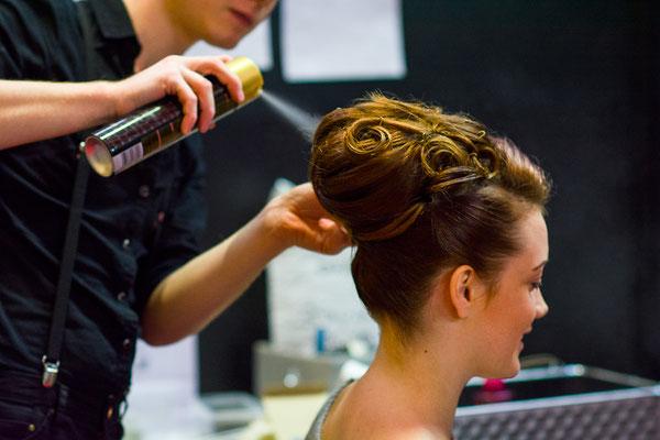 show coiffure cheveux beauty backstage making-of préparation coiffeur photographe professionnel pays de la loire vendée loire-atlantique maine et loire angers cholet montaigu nantes 44 49 85