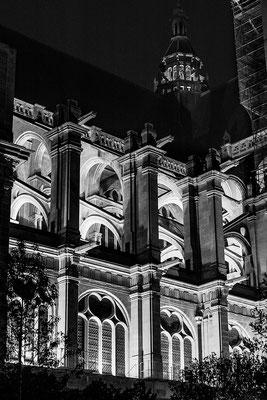 architecture noir et blanc les halles paris cabinet architecte angers photographe maine et loire pays de la loire