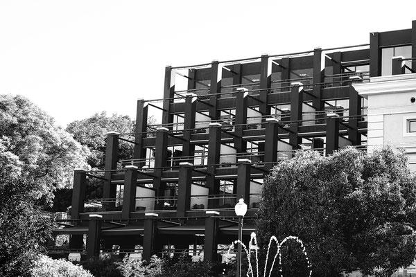 architecture noir et blanc hôtel bâtiment architecte photographe nantes loire-atlantique pays de la loire
