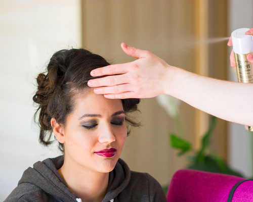 coiffure cheveux beauty face portrait backstage making-of préparation coiffeur photographe professionnel pays de la loire vendée loire-atlantique maine et loire angers cholet montaigu nantes 44 49 85