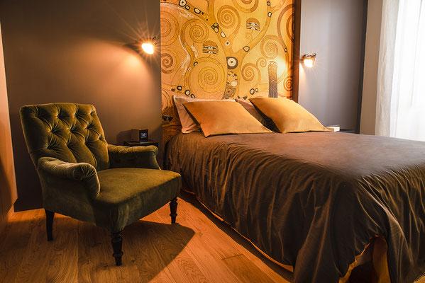 chambre lit maison appartement décoration intérieur chaleureux location vente immobilier agence immobilière photographe angers maine et loire pays de la loire