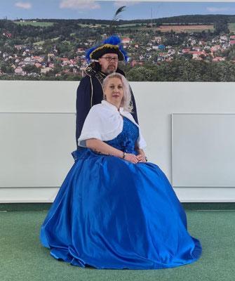 Prinzessin Manuela die 56. und Prinz Mario ( Locke) der 56. Manuela und Mario Keulig