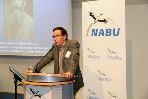 Dr. Hans-Werner Frohn von der Stiftung Naturschutzgeschichte