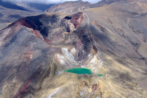 Red Crater, Tongariro National Park, North Island © 2010 Stefan Pompetzki