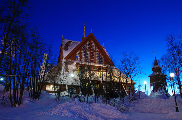 Die Kirche in Kiruna                               © 2012 Stefan Pompetzki