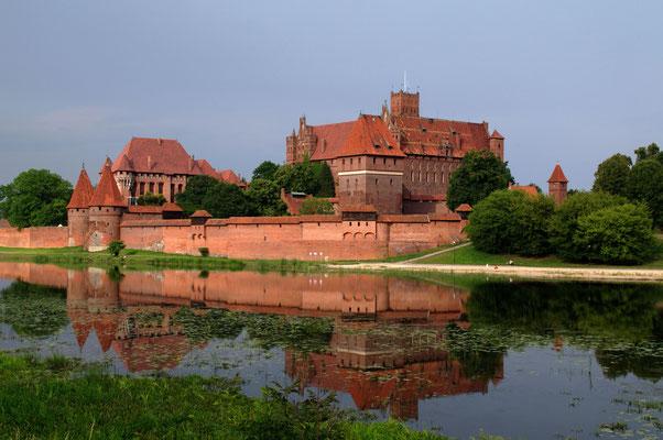 Die Marienburg in Malbork © 2014 Stefan Pompetzki