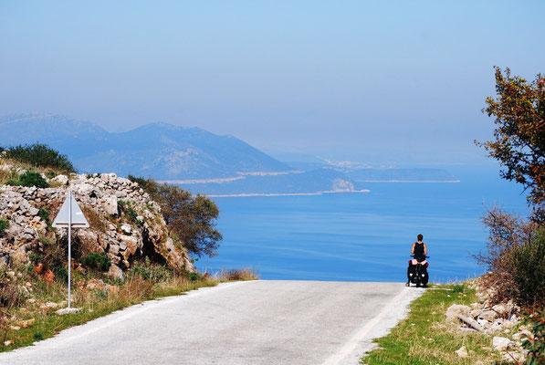 La splendide péninsule du Péloponnèse en Grèce