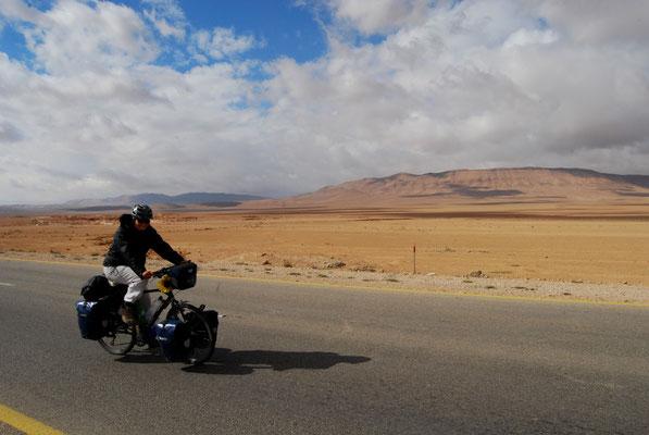 Départ pour le désert syrien