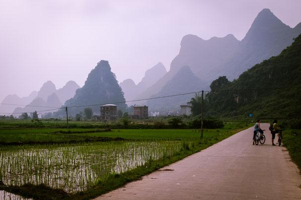 Les spectaculaires montagnes karstiques de la région de Guilin