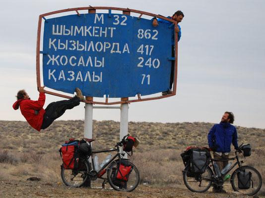 Au Kazakhstan il y a des envies de hauteur :p