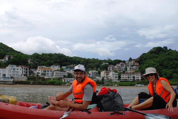 Et c'est parti pour 10 jours de kayak à Hong Kong