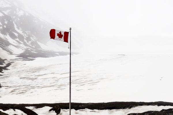 Icefields du parc national de Jasper au Canada - Mount Athabasca 3'491 mètres