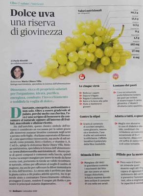Maria Chiara Villa - Articolo apparso su BenEssere