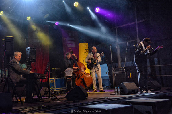 Ron Williams & Jörg Seidel Trio - Dürener Jazztage 2016