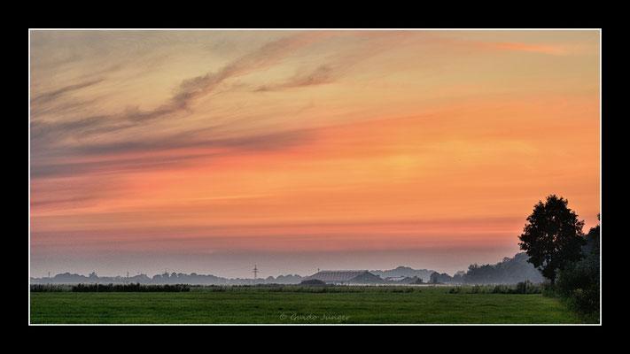 #30 Sonnenuntergang Wiarden