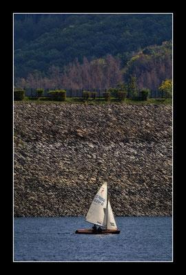 #37 Segeln auf dem Rursee bei Niedrigwasser