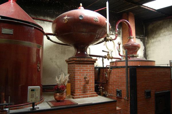 Destillatie Chateau Guynot