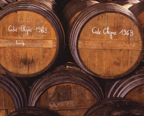 Houten cognac vaten