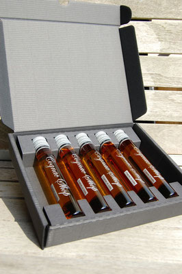 Cognac in tube collection 5 x 6 cl