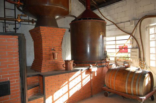 Destilleer installatie
